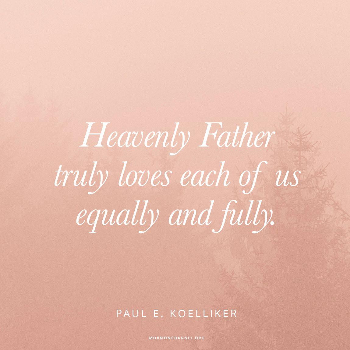 God Loves Us Equally