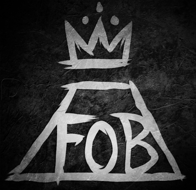 Fall Out Boy Logo How To Draw Fall Out Boy Logo Fall Out Boy Rock Band Logos Band Logos