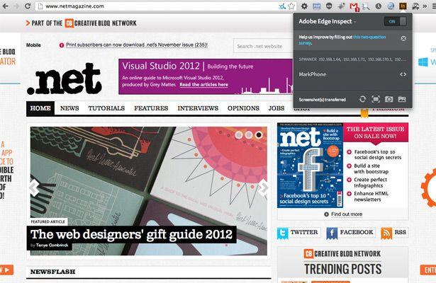 Adobe Edge Inspect Web Development Design Web Design Web Development Tools