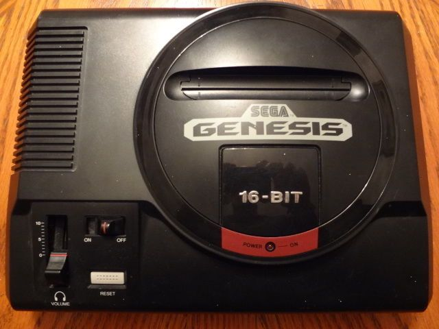 sega genesis model 1 replacement console only! tested