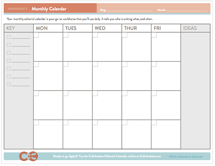 Content Marketing Resources Like Content Calendar Templates Save