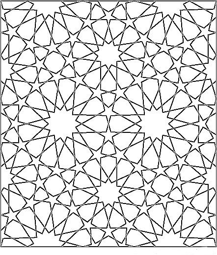 islamic geometric patterns black and white - Google Search ...