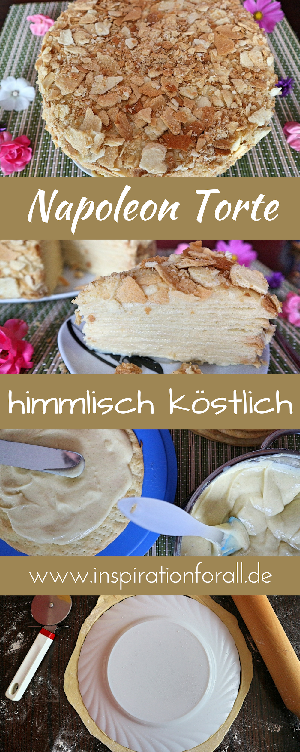 Napoleon Torte Rezept Fur Leckere Russische Schichttorte Kuchen