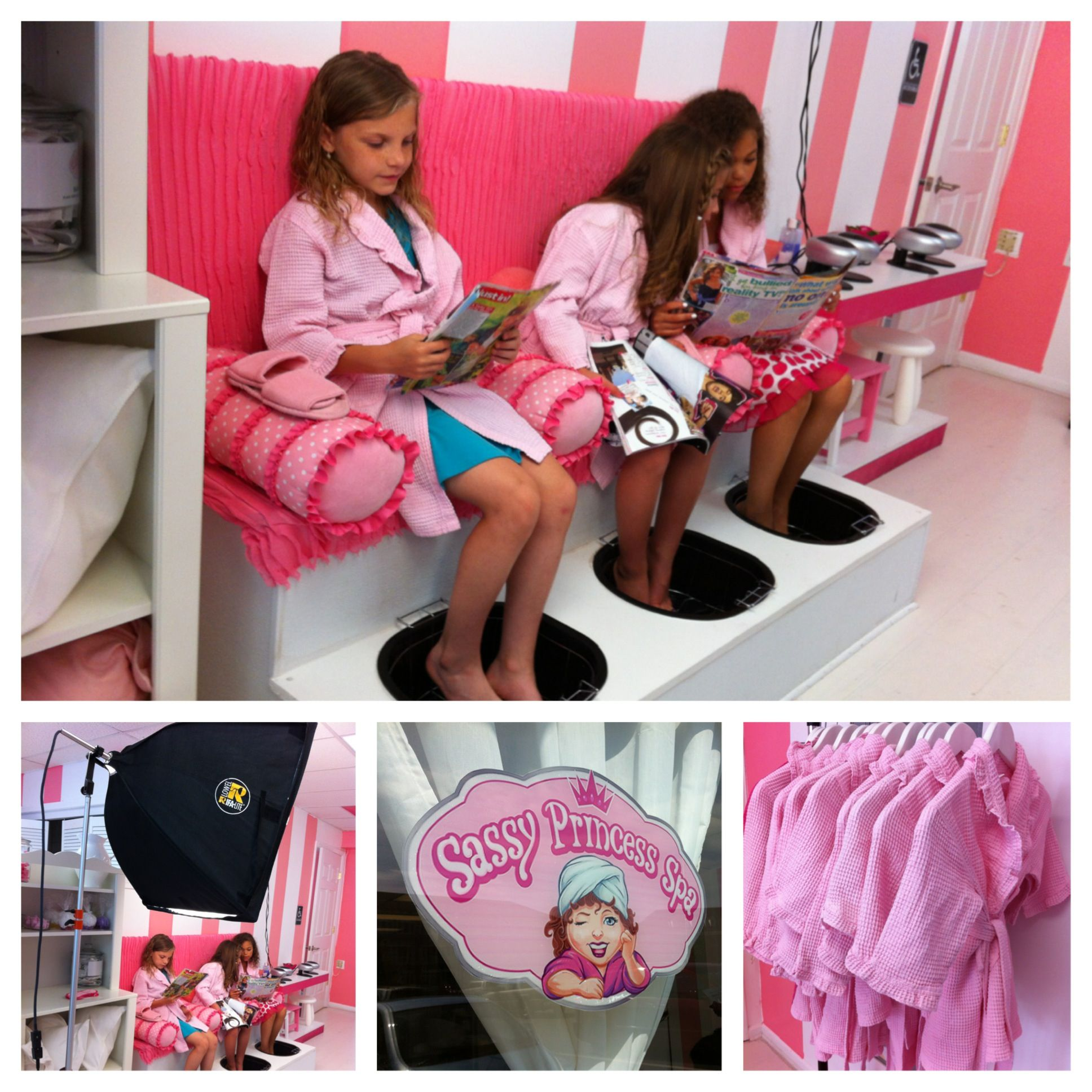 Fashion Nail Salon And Beauty Spa Games For Girls: Sassy Princess Spa For Girls Ages 3-13!