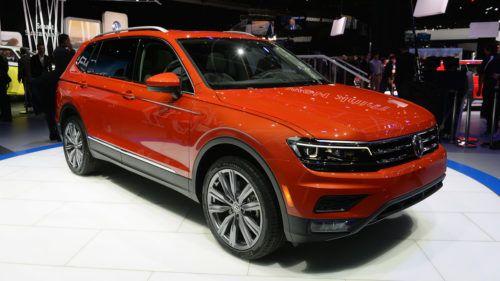 2018 Volkswagen Tiguan Allspace Revealed Volkswagen New Suv Suv