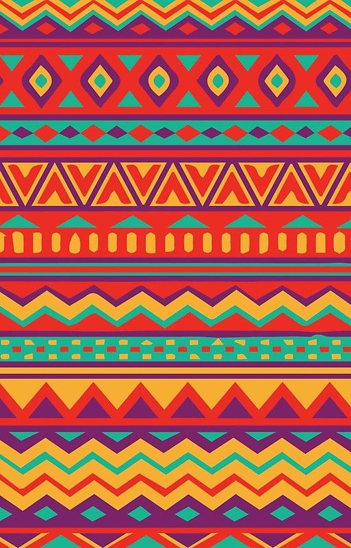 'Aztec Pattern' Case/Skin for Samsung Galaxy by Steph Gibbons #aztec