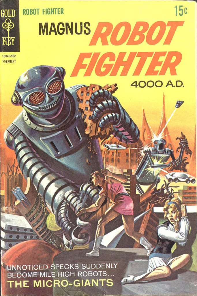 Magnus Robot Fighter 4000 A D Vintage Comic Books Comic Books Comics