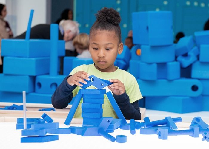 PLAY.WORK.BUILD. at the National Building Museum, Washington, D.C. / Rockwell Group