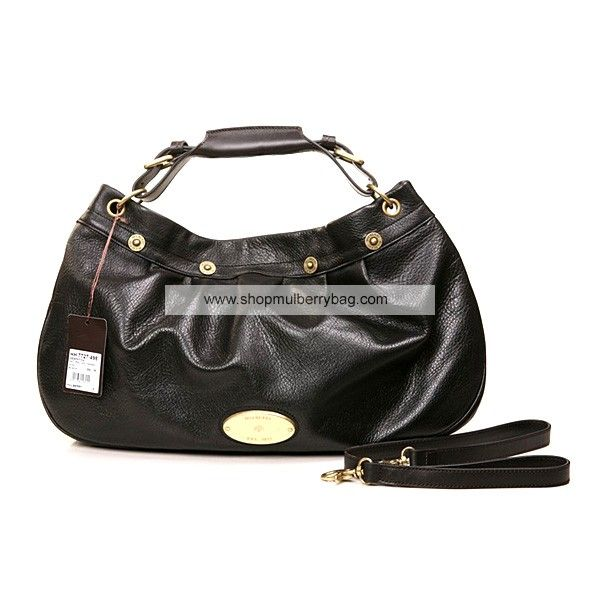 400978a272 Mulberry Women s East West Mitzy Leather Shoulder Bag Black ...