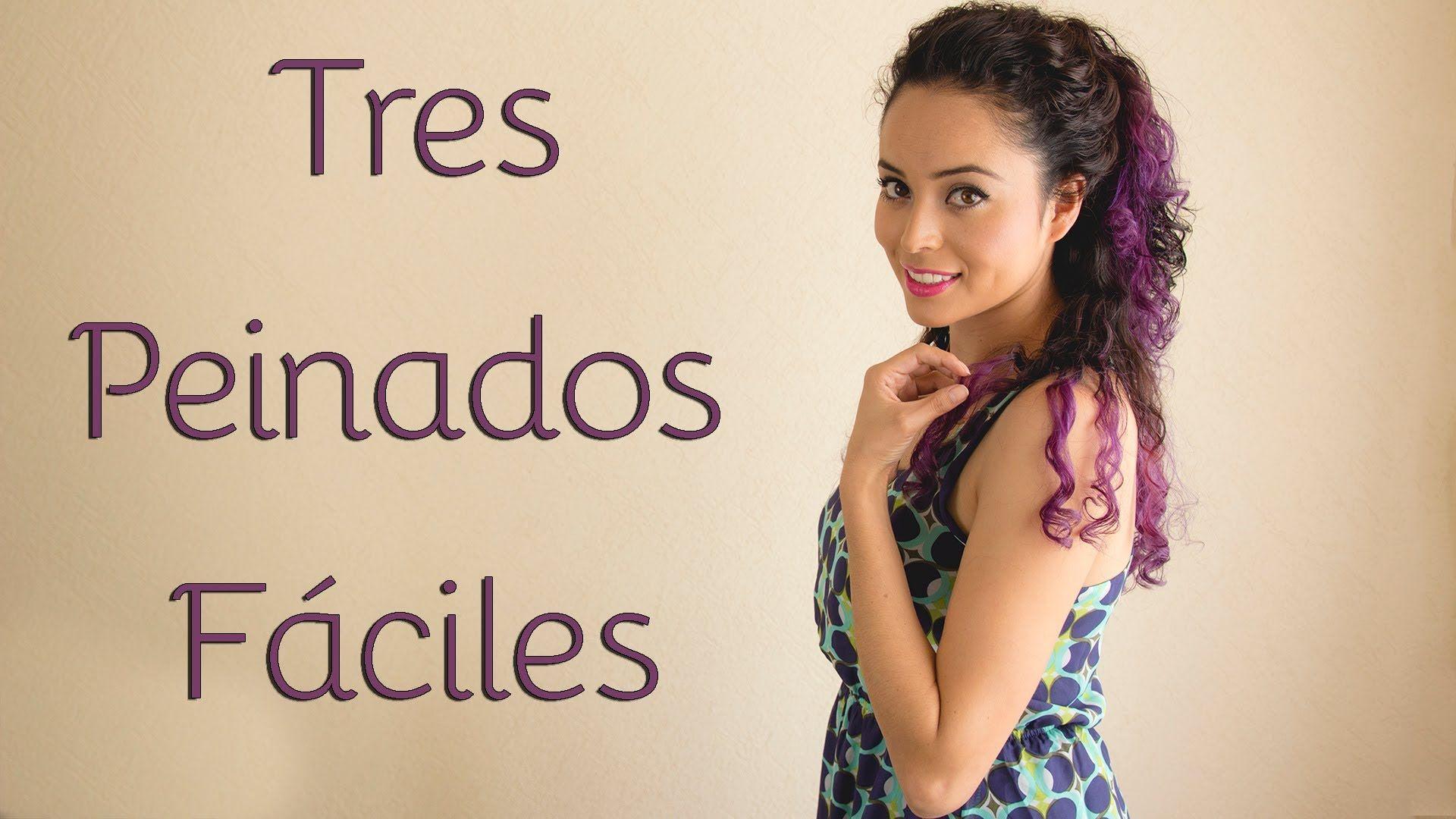 Peinados Para Cabello Chino 3 Opciones Fáciles Y Rápidas