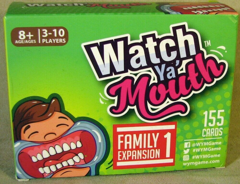 Watch Ya Mouth Family Expansion 1 155 Cards harrypotter