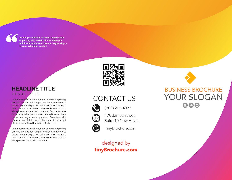 008 Google Docs Template Brochure Ideas Trifold Slides