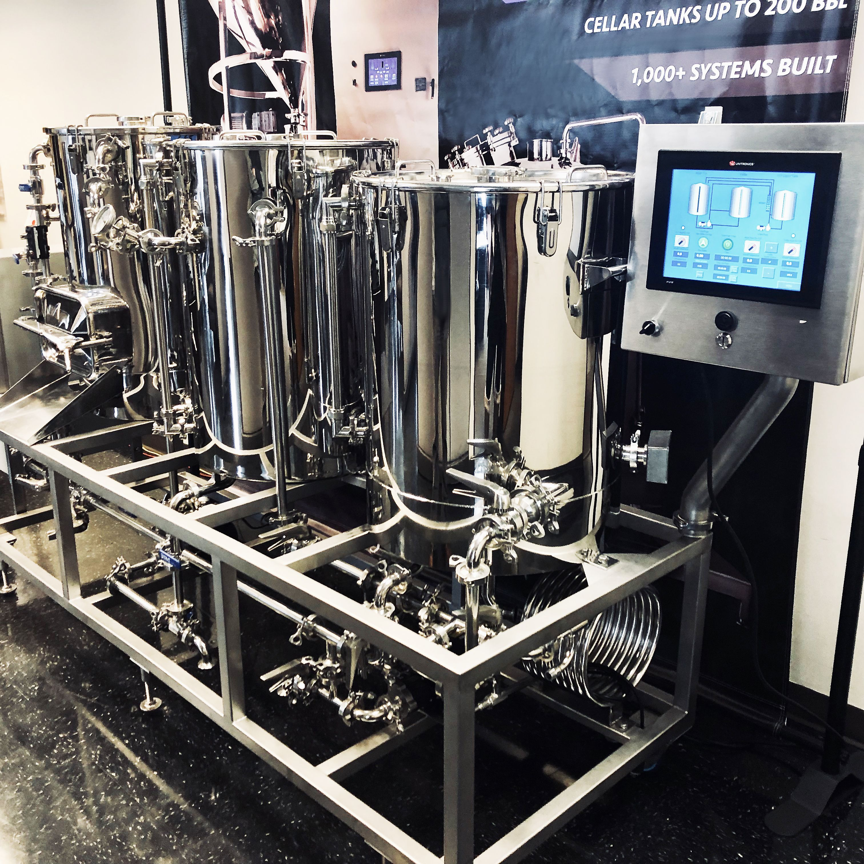Sold Another Pro Grade 1 Bbl Brewing System Is Headed Out This System Will Be Used As A Pilot System In 2020 Home Brewery Brewing Equipment Home Brewing Equipment