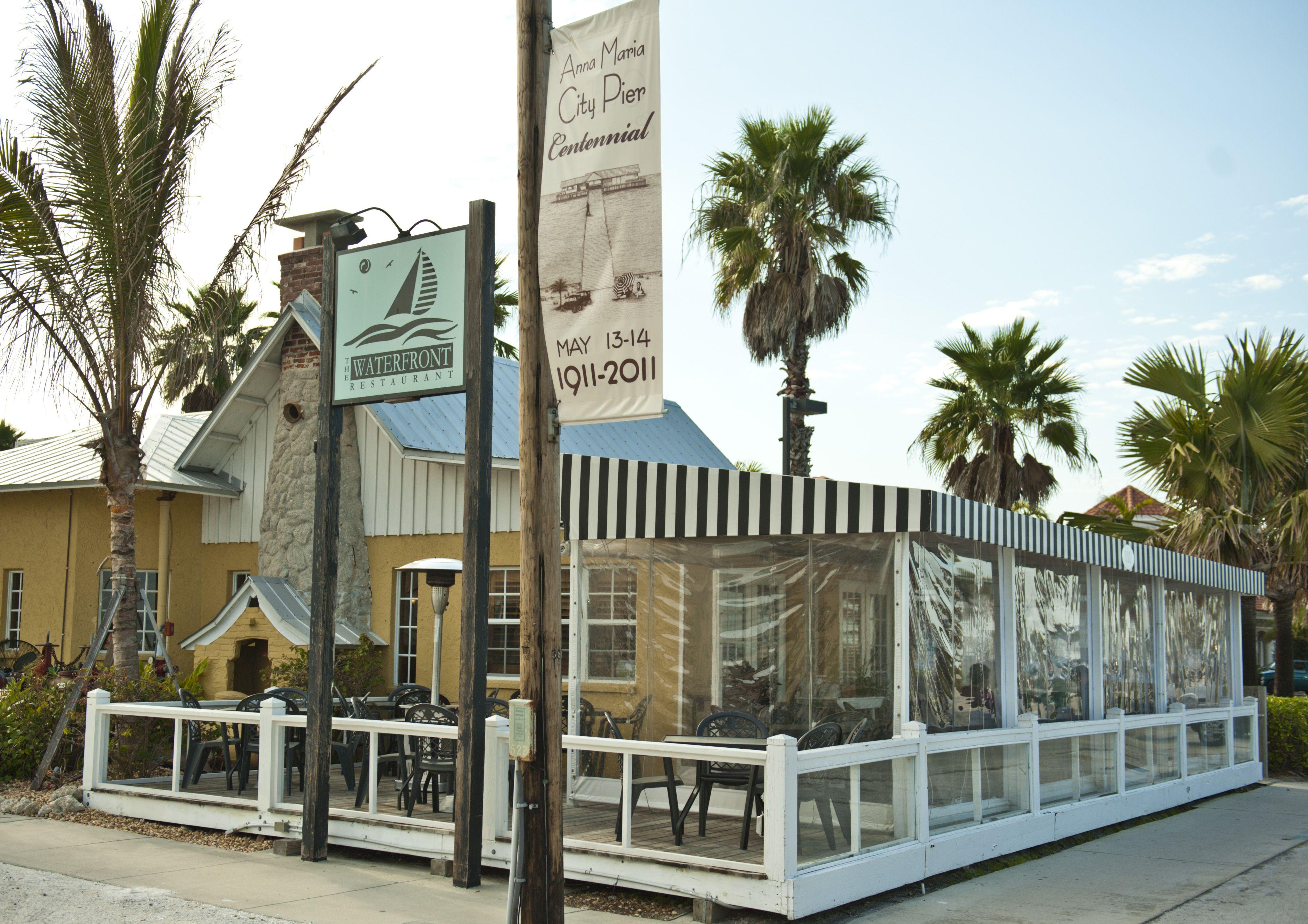 The Waterfront Restaurant Restaurantanna Maria Islandsunshine