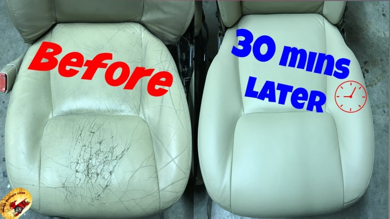 How To Repair The Nastiest Leather Vinyl Back To Perfect