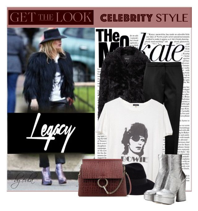 """Get the Look: Winter Edition"" by eula-eldridge-tolliver ❤ liked on Polyvore featuring Topshop, Elie Saab, R13, Maison Michel, Marc Jacobs, Chloé, women's clothing, women, female and woman"