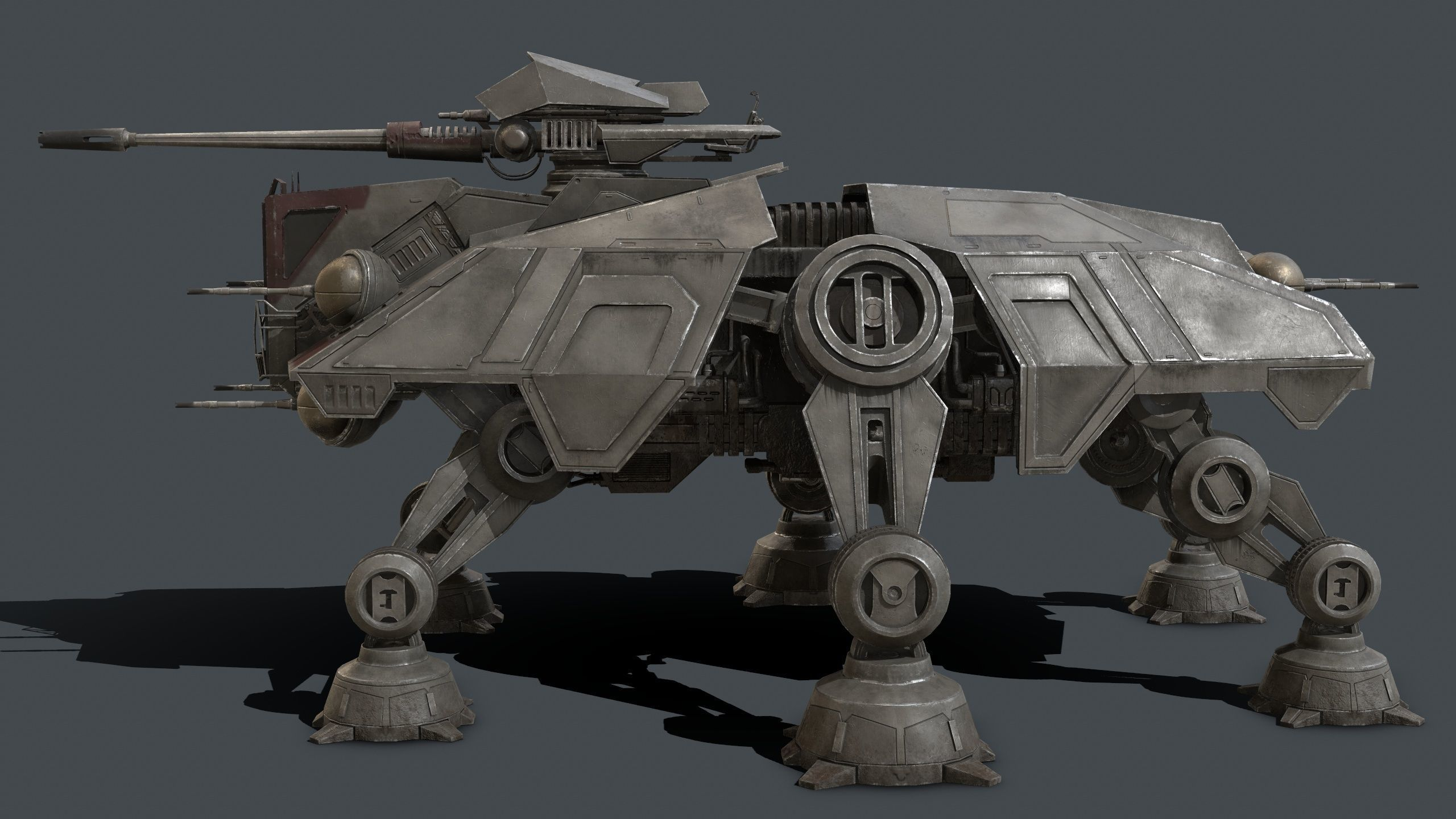 Star Wars At Te 3d Model Star Wars Ships Star Wars Rpg Star Wars Clone Wars