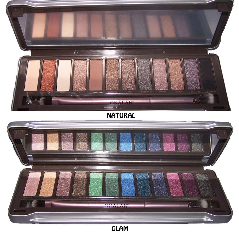 Details about Cosmetics Eye Shadow Palette Natural Glam