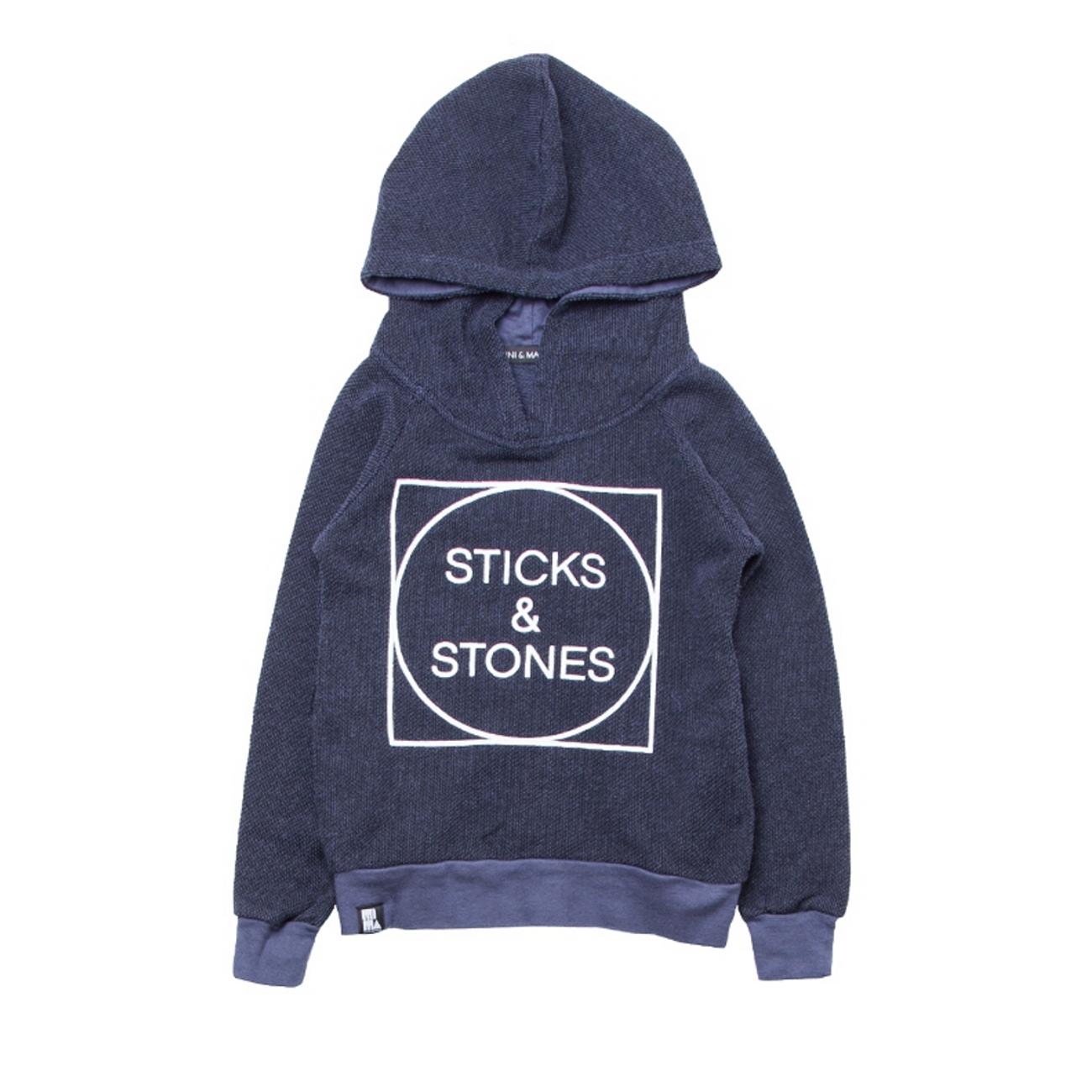 sticks ZIRIMOLA amp; capucha stones MINI shop eco sudadera and MAXIMUS con qXwqd8g