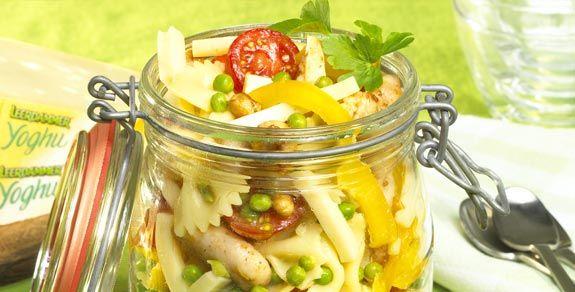 Farfalle Salad with Leerdammer