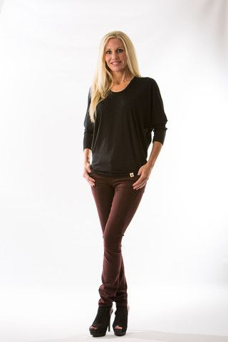 Mya Iconic Skinny, Deep Red by Articles of Society – Two Elle's Boutique
