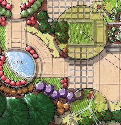 plan scan Small dessin Pinterest Plans, Paysagiste et Plans de - Comment Dessiner Un Plan De Maison