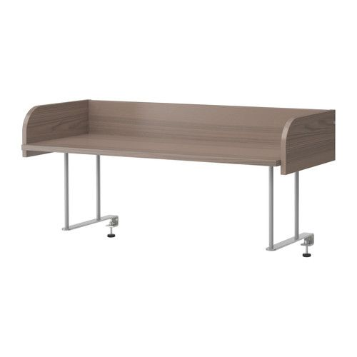 GALANT Desk top shelf IKEA Attaches to GALANT table tops for easy access  storage that frees