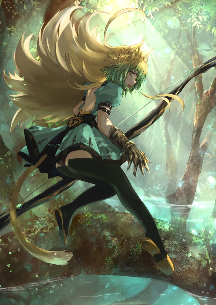 Atalanta / Archer of Red Fate anime series