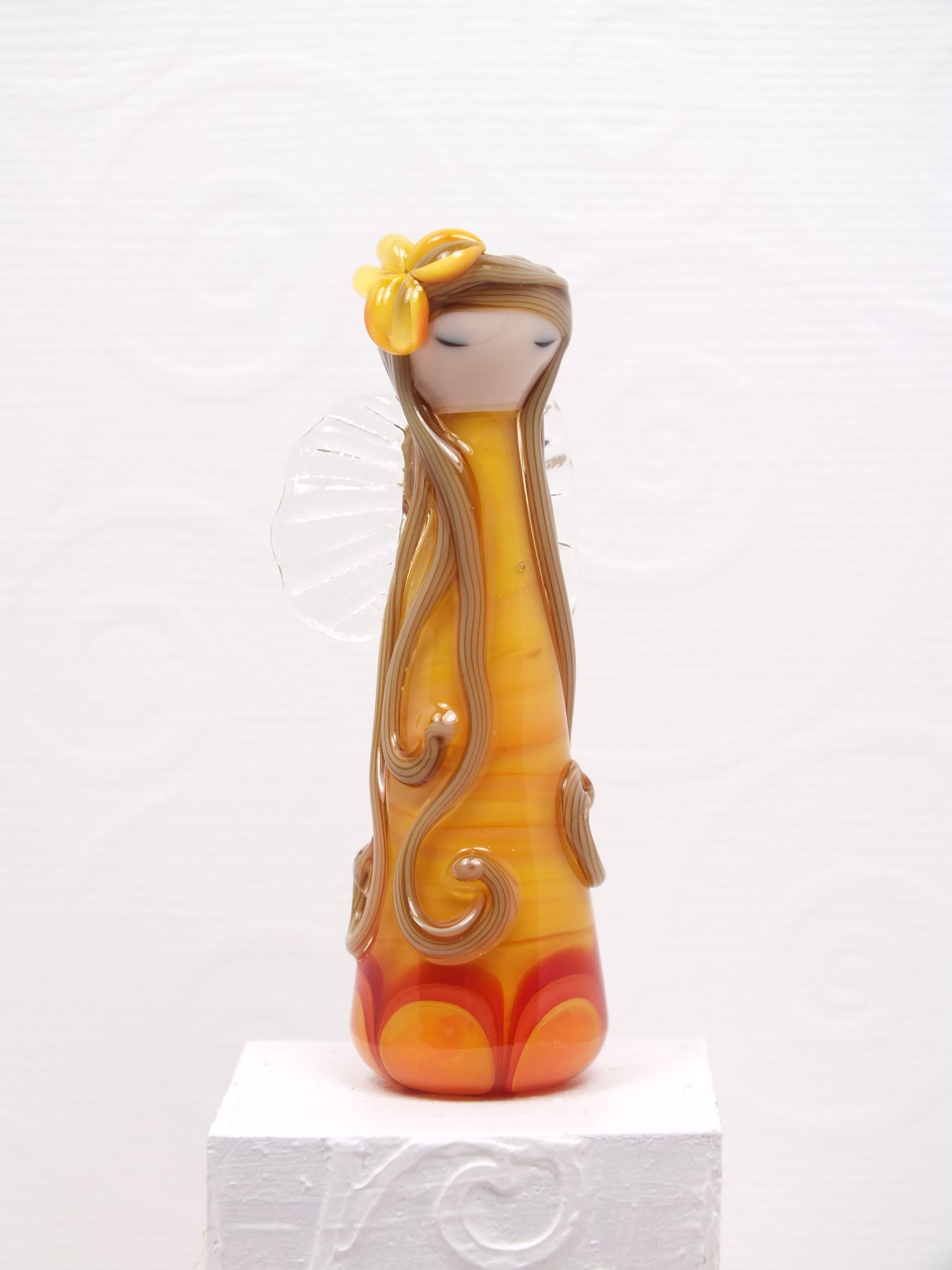 Sally Sutherland's beautiful woodland fairy - in Apricot Yellow