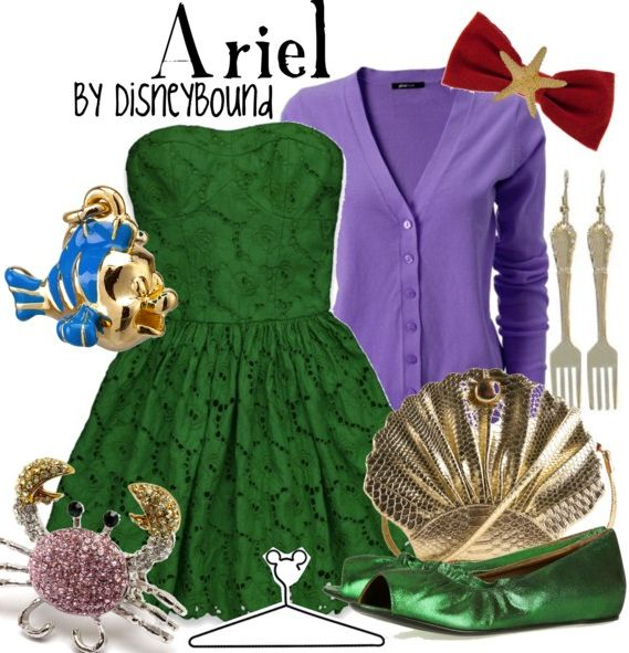 Disney Bound  Ariel  Little Mermaid
