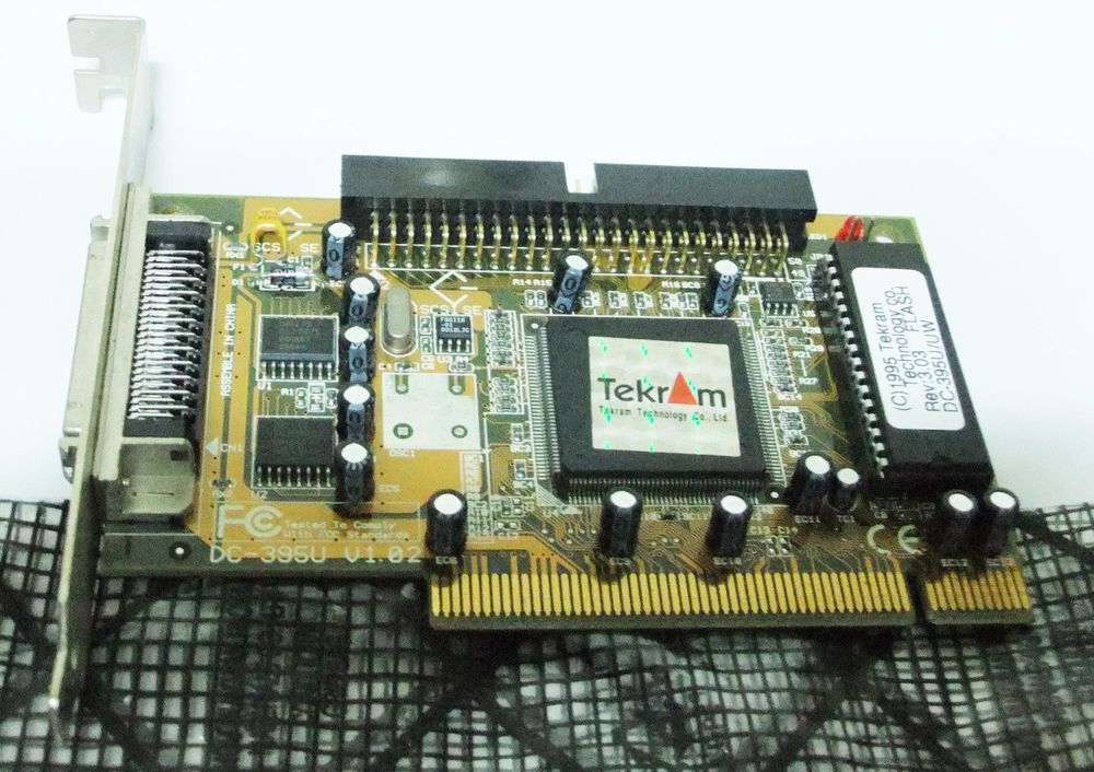 DOWNLOAD DRIVERS: TEKRAM SCSI CARD