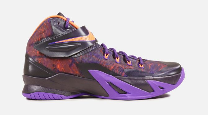 Nike Zoom Soldier 8 Purple Hyper Crimson   Sole Collector