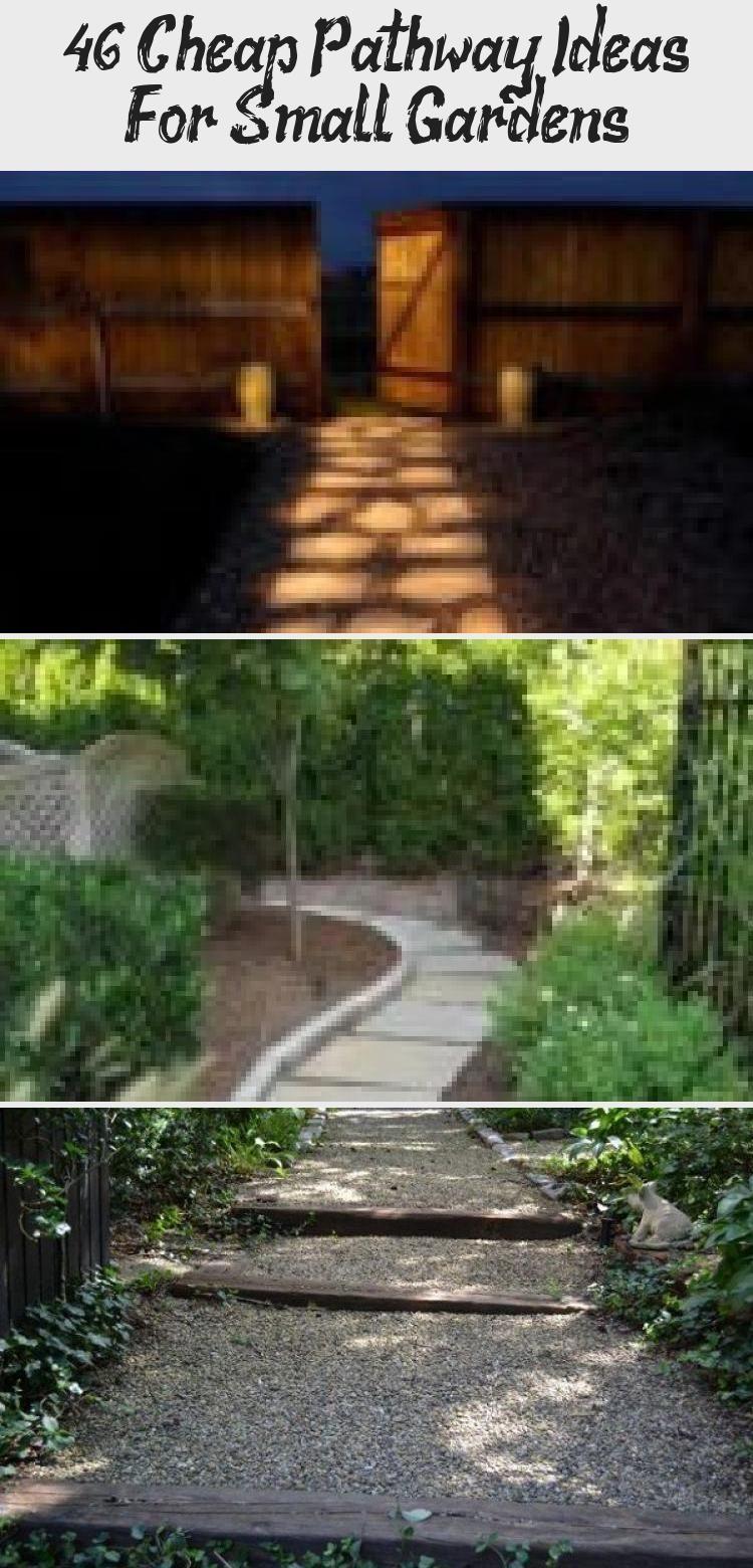 Photo of 46+ Easy & Cheap Garden Path Ideas For Your Beautiful Garden #rockgardenBorder #…