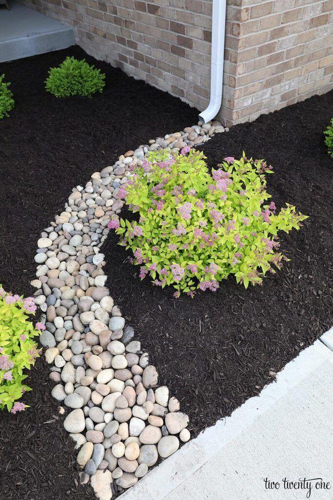 Regenschutz – Erneuerung der Landschaftsgestaltung im Vorgarten – Garden Blog  #modernfrontyard