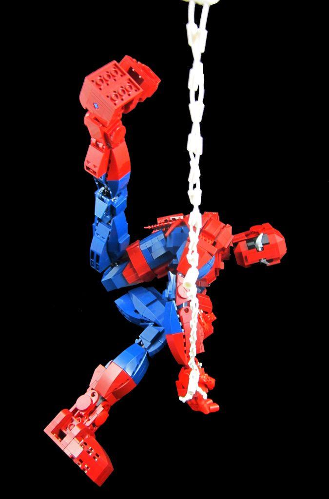 Amazing spider man poseable lego action figure is badass news geektyrant bd spiderman - Lego the amazing spider man 3 ...