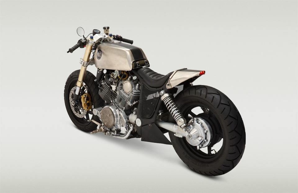 XV1100 custom #garagebuilt by Classified Moto.
