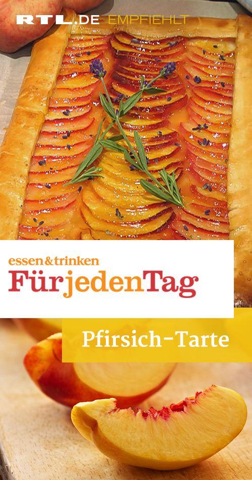 Pfirsich-Tarte #summerdinnerseasy