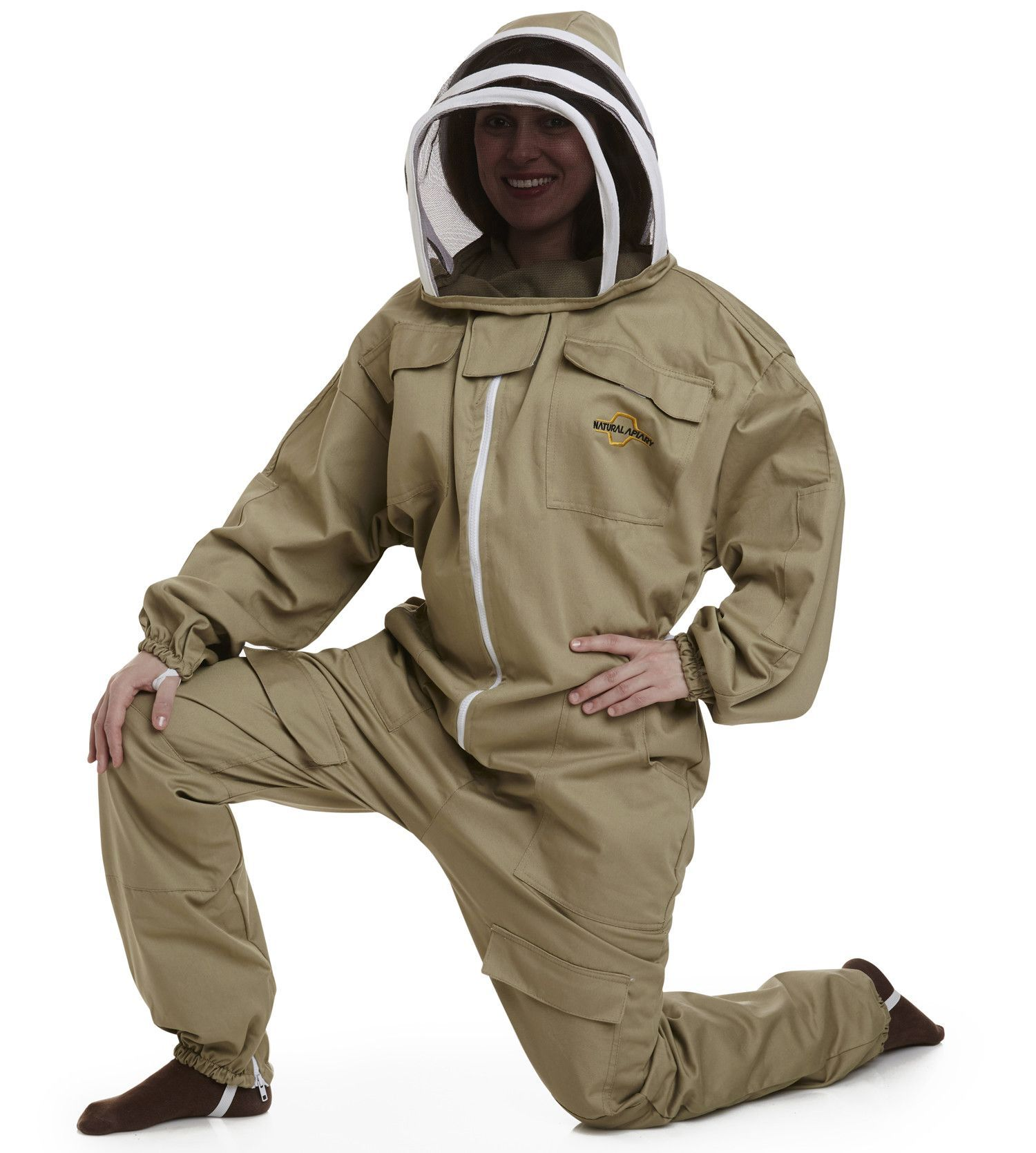 2XLarge Size Eco-Keeper Premium Professional Beekeeping Vented Bee JACKET