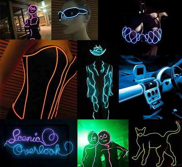 EL Wire Canada - LED Montreal | LED Gadgets | Pinterest