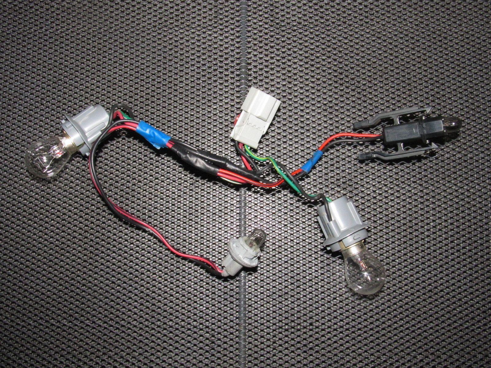 88 89 90 91 Honda Crx Oem Tail Light Bulb Socket Right 1990 Prelude Wiring
