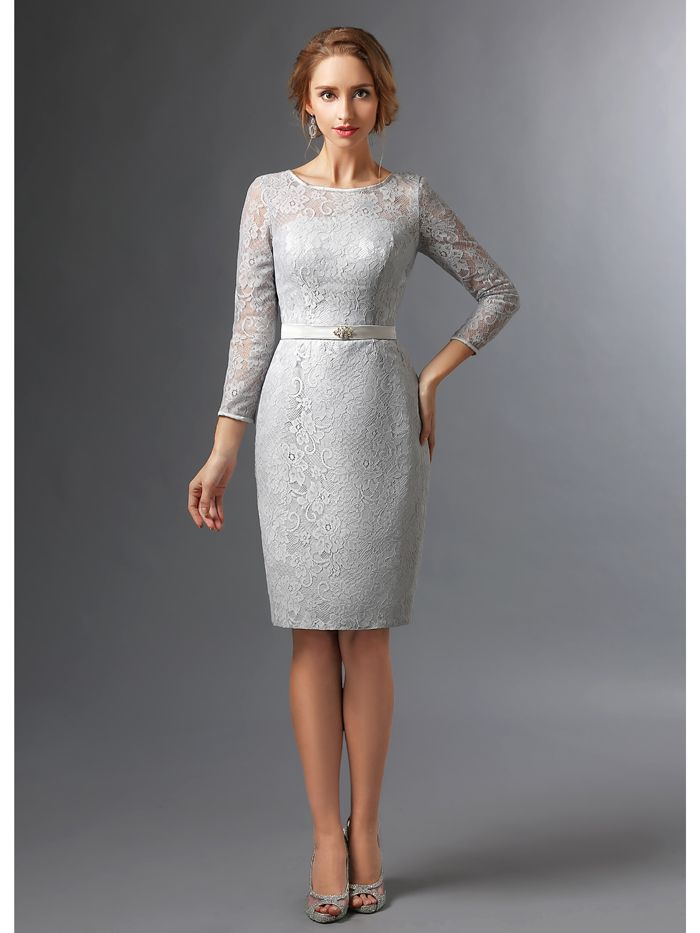 Grey Wedding Party Dresses