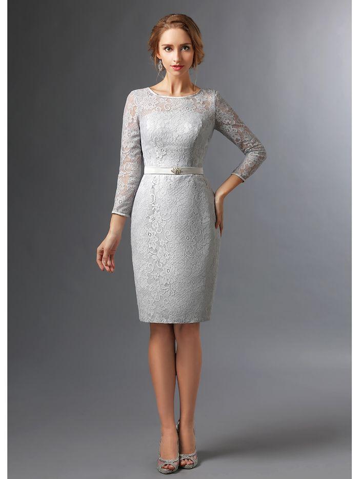 Grey Dress For Wedding - buyretina.us
