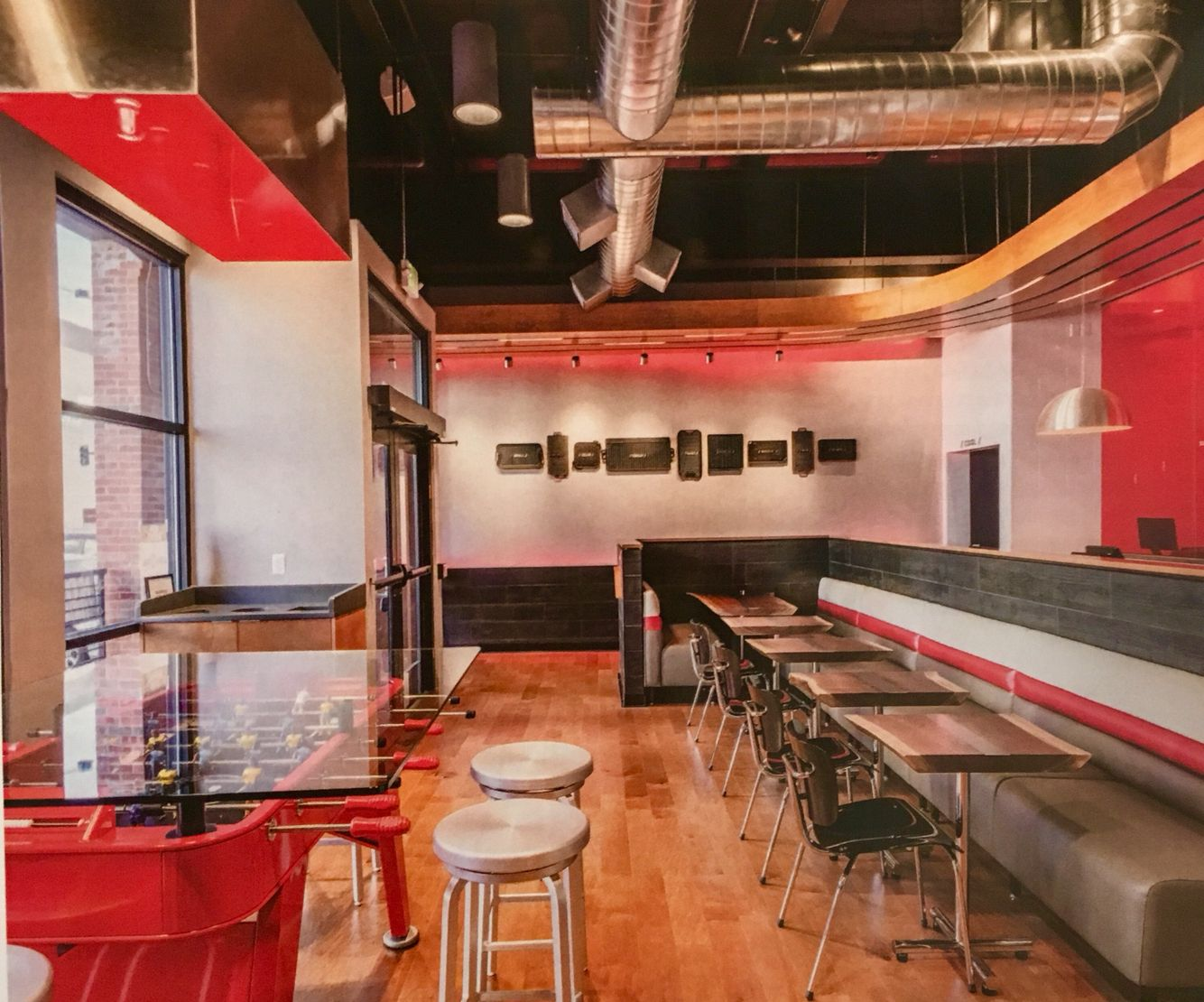 Quiznos Restaurant Design In Denver
