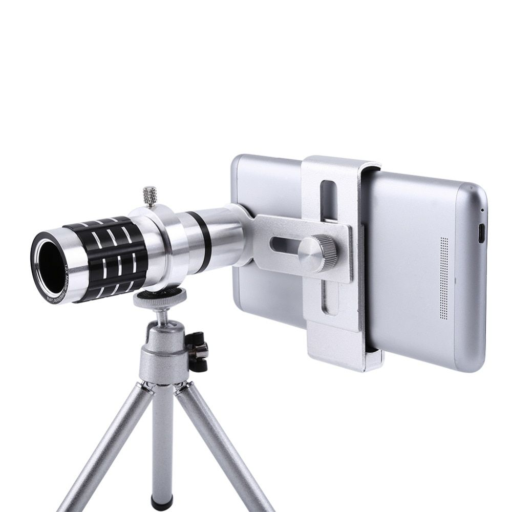 Uvr Mobile Phone Telephoto Lens 12x Zoom Optical Telescope Camera