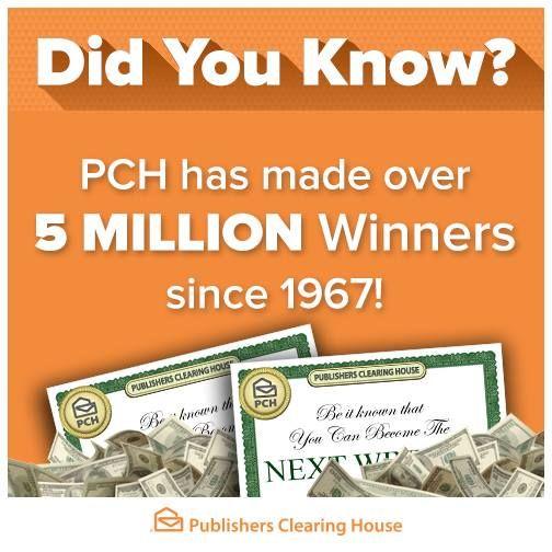 PCH Blog | PCH Winners Circle | My PCH Favorite's | Free
