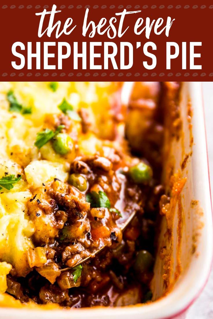 Photo of Homemade shepherd's pie is the ultimate comfort food. This simple recipe is made…