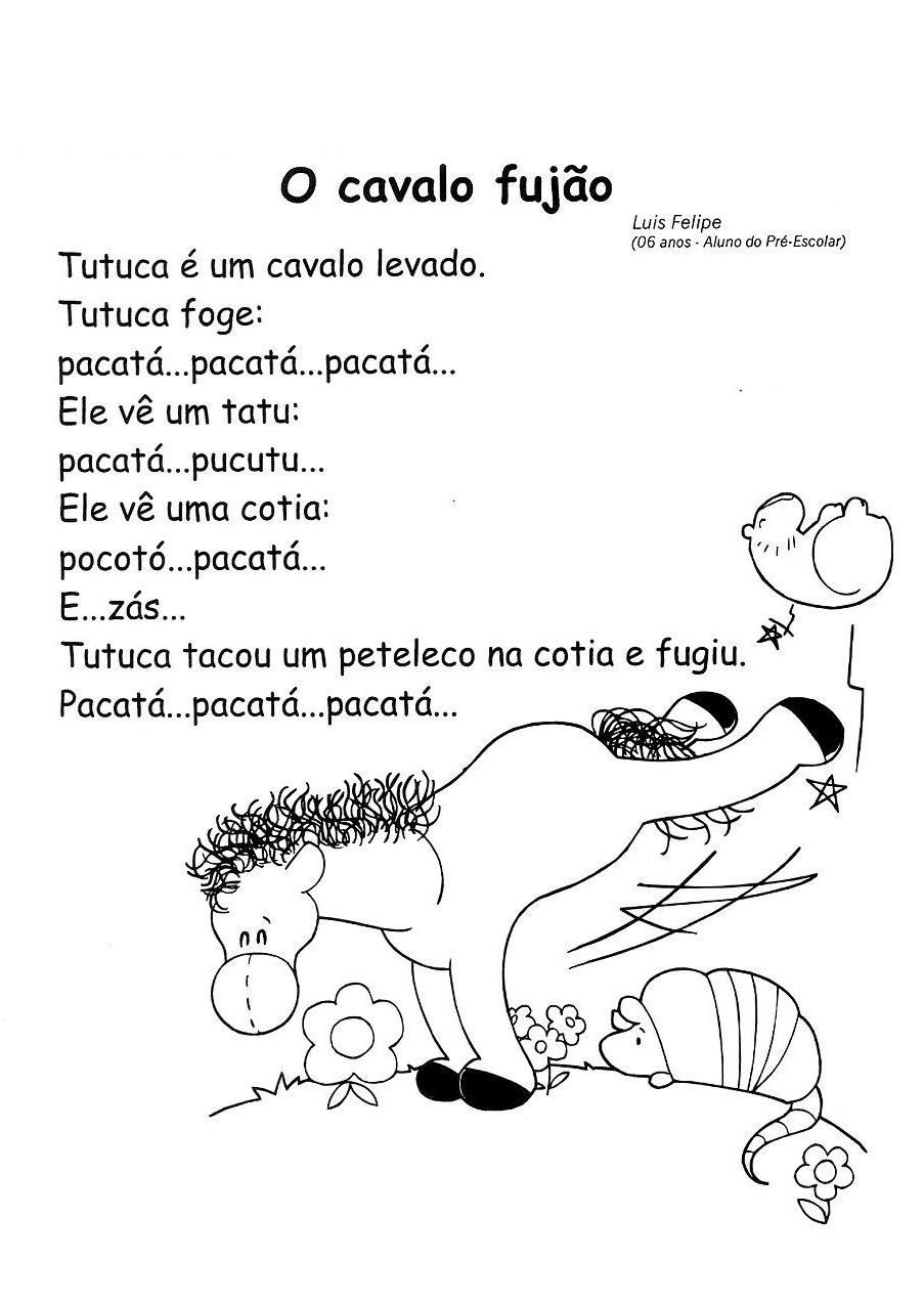 Poesia Ilustradas Dia Dos Animais Pra Gente Miúda Imprimir