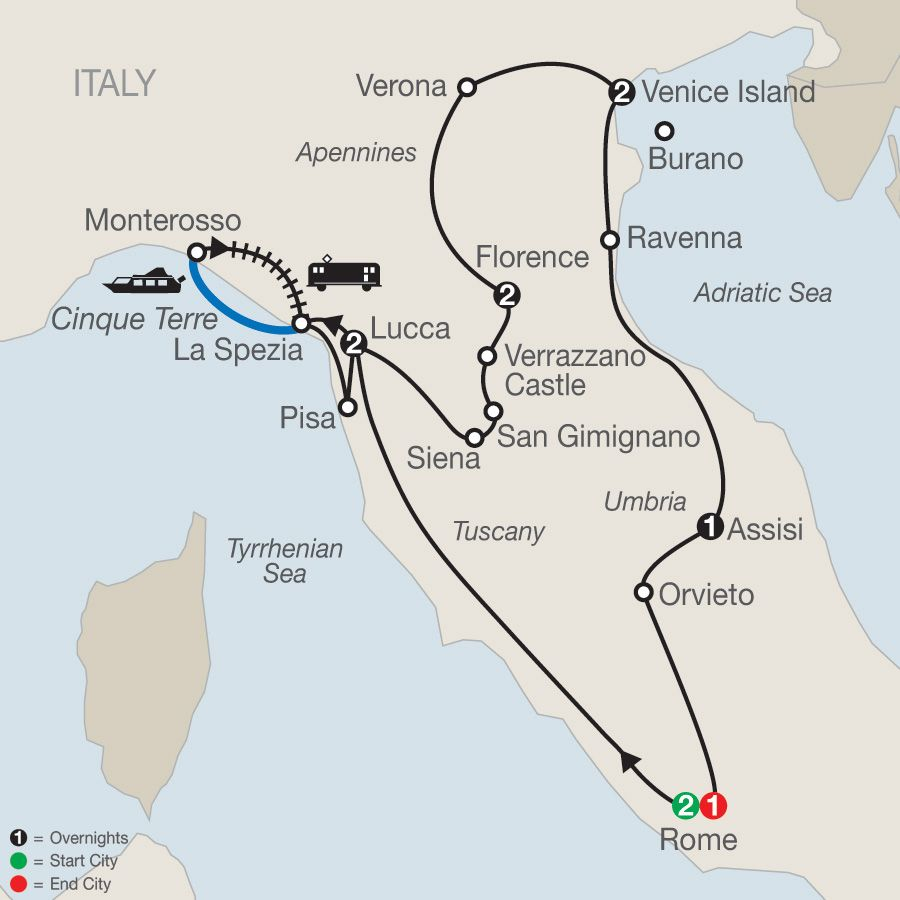 Italy Tour Package Globus