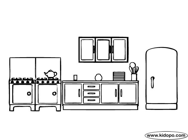 kitchen | kids coloring pages | pinterest