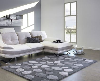 Tapis Tuft Galets 160x230 Gris Tapis Decoration Mobilier De Salon Decoration Deco
